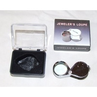 10X Jewelers Loupe, 21mm triplet lens, lanyard, very affordable.