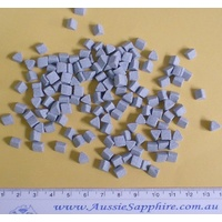 Medium Cut Ceramic Media 6x6mm Triangles - 1kg Lot