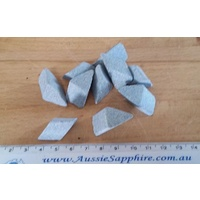 FAST Cut Ceramic Tumbling Media - 15mm Angle Triangles - 1 kg Lot