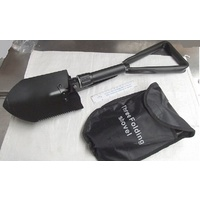 Three Way Folding Shovel for Prospecting, Fossicking or Camping