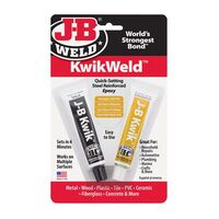 JB Kwik Dopping Epoxy, 2 oz pack