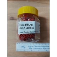 Red Rouge Powder, 450g Jar Ideal for Tumble Polishing Brass