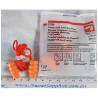 Soft Foam Ear Plugs, Corded, 3M, Comfy Ear/Hearing Protection