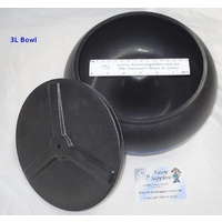 Spare bowl for the Thumler UV-10 with Lid.