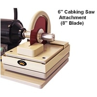 CabKing trim saw attachment for the 6″ Arbor