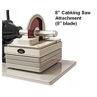 CabKing trim saw attachment for the 8″ Arbor