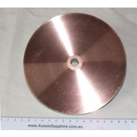 "Copper Lap (Laminated) for Pre-Polishing - 6"" or 8"""