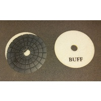 "4"" Diamond Buffing Pad for WET polishing stone"
