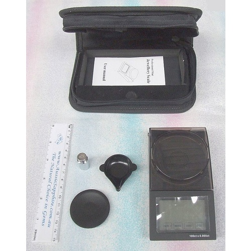 Professional Diamond Carat Scales, 0.005ct/20g accuracy + Case