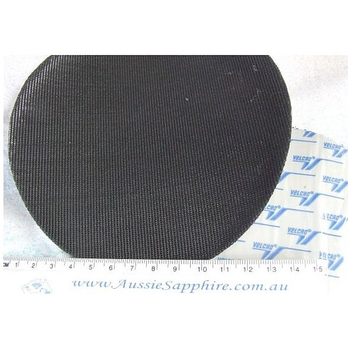 "6"" Velcro Starter Disc , PSA Backing, Use to mount SiC Discs [Size: 6 inch]"
