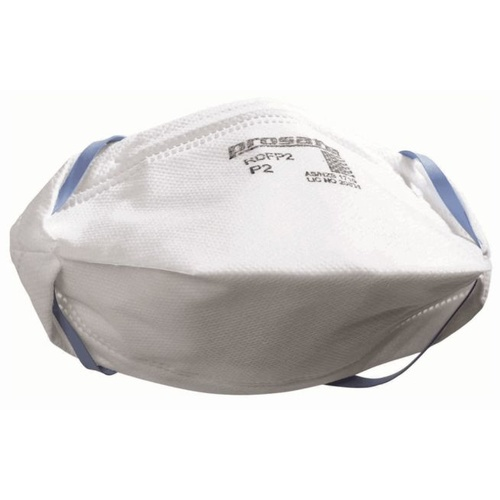 Dust Mask, Prosafe Flat Fold P2 Respirator for Grinding Safety